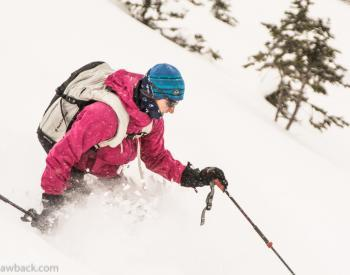Hero's Knob Ski Tour :: Canadian Rockies