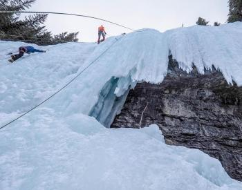 Guided Ice Climbing in Canmore and Banff