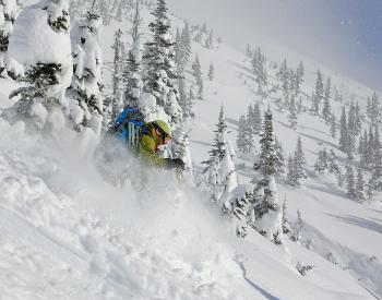 Ski Touring Teslin's at Burnie Glacier Chalet