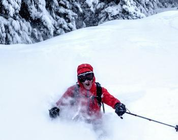 Powder Day :: Burnie Glacier Chalet